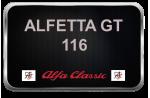 ALFETTA GT 116