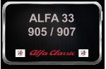 ALFA 33  905/907